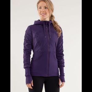 RARE Lululemon dance studio reversible jacket in concord grape